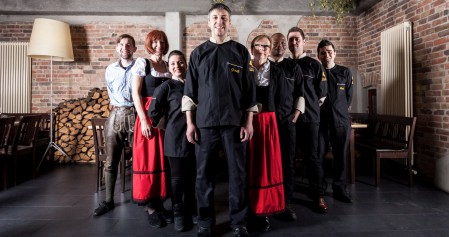 maria Das Team des Maria & Josef (Foto White Kitchen)