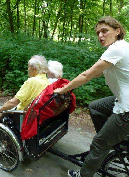Wannseer Rikschapiloten: Radeln ohne Alter