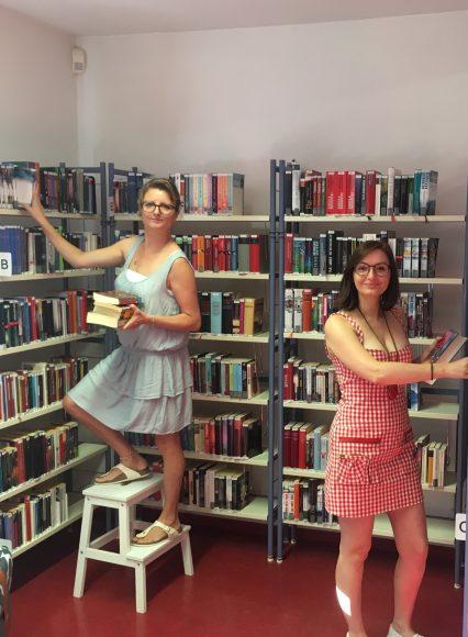 Alles neu in der Stadtbibliothek von Teltow