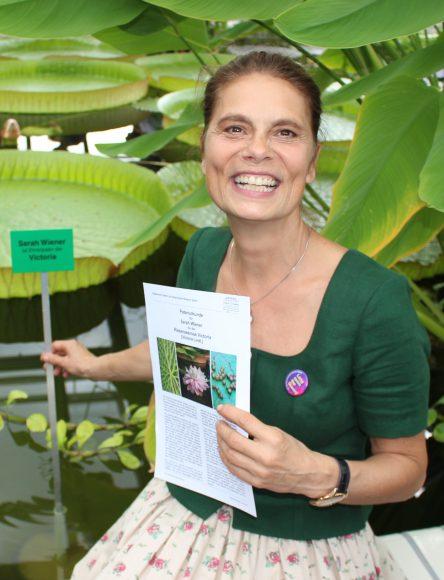 Botanischer Garten: Patin für die Victoria