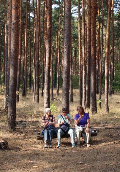 Ausflug in den  Düppeler Forst: 3000 Schritte extra