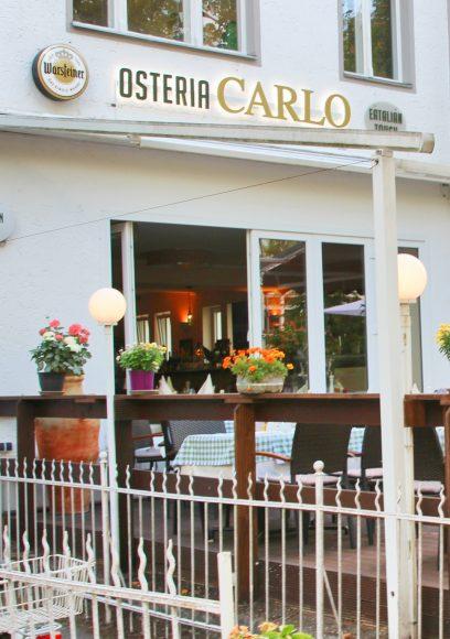 Schlachtensee: Neu aufgemacht hat die Osteria Carlo