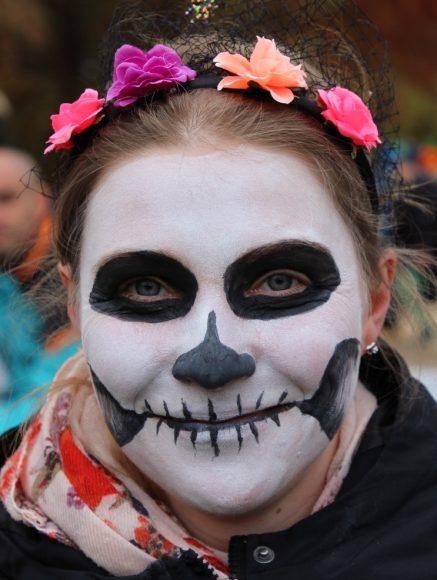 Halloween feiern im Botanischer Garten