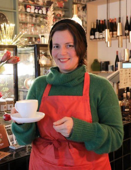 Nikolassee: Im Café Seespecht*