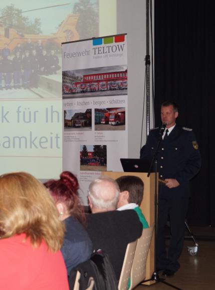 189 Menschenleben gerettet: Jahresrückblick 2018 der Teltower Feuerwehr