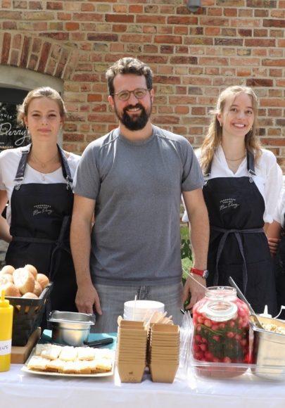 Ben Perry eröffnet Kochschule in Stahnsdorf!