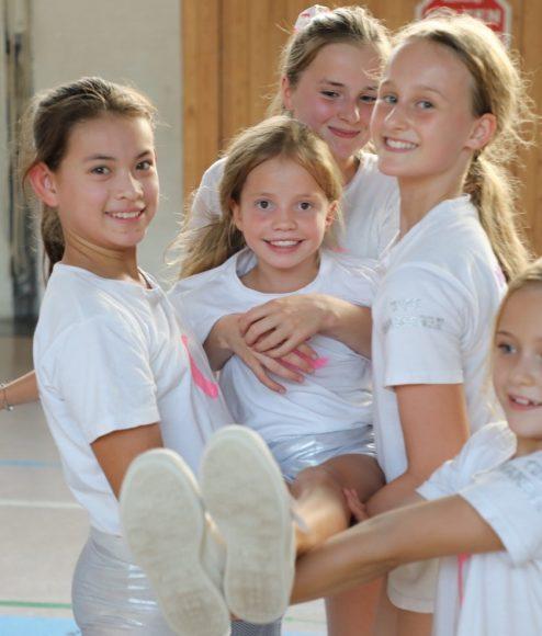 Hoch hinaus in Wannsee: Die Moonlight Cheerleaders üben neue Choreografien ein!