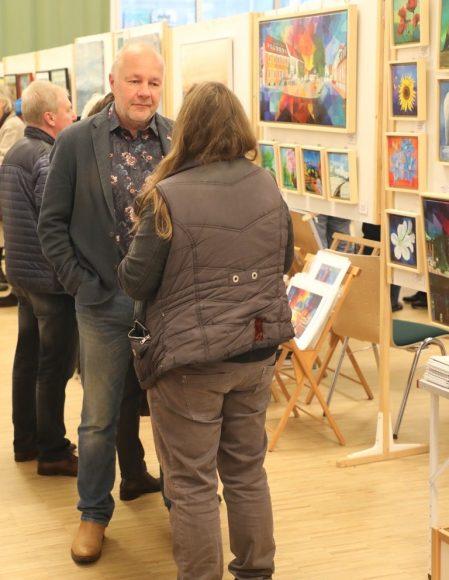 12. Teltower Kunst-Sonntag mit  60 Ausstellern: Lokale Kunst im Blick