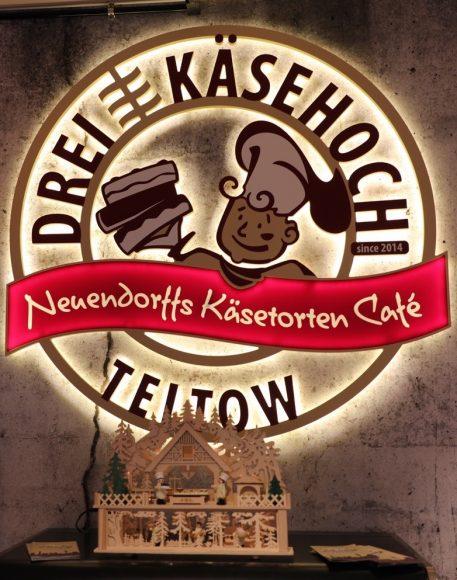 Neueröffnung Dreikäsehoch: Neuendorffs Käsetorten Café in Teltow!