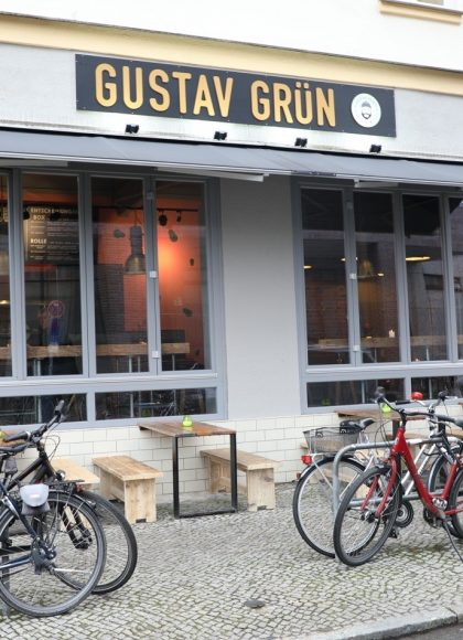 Neu: Gustav Grün – Veganer Kebab oder Falafel als Wrap oder in der Box!