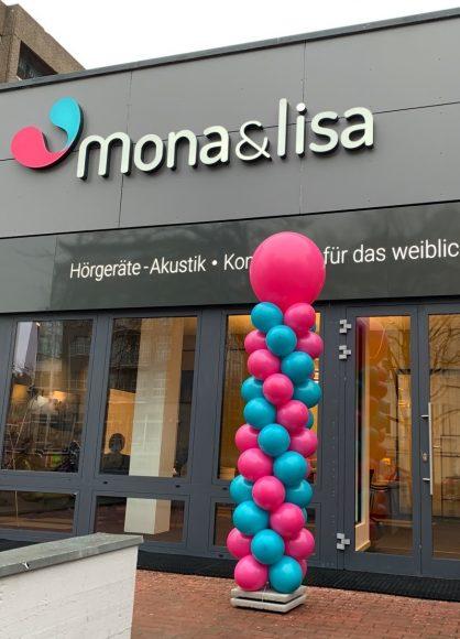 Neu: mona&lisa Hörgeräte-Akustik für Frauen: Frauen hören anders?