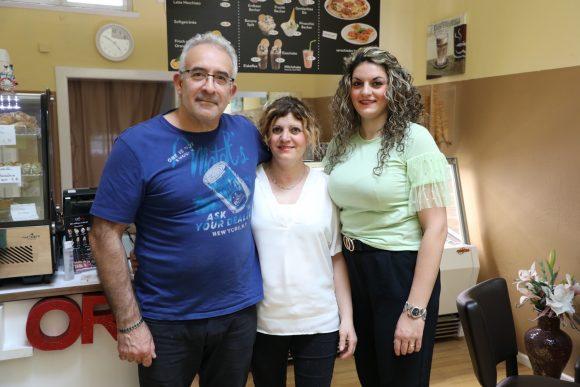 In der Tricolore: Pizza, italienisches Eis und Teilchen in der Ladenstraße!
