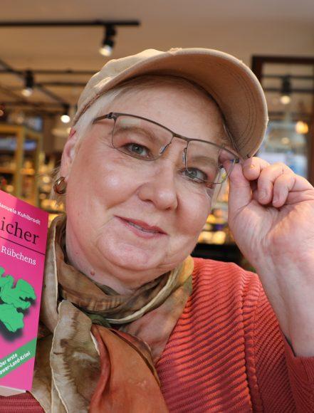 Rübchenkrimi: Manuela Kuhlbrodt schrieb den ersten  Teltower-Land-Krimi!