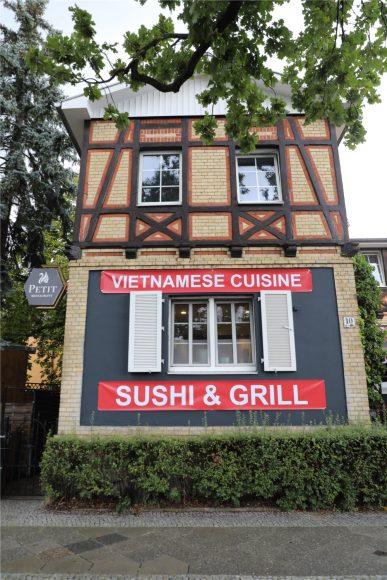 Curry & Sushi: Asiatische Fusionsküche im neuen Petit Restaurant Wannsee!